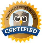 Kelly Johnson, Hootsuite Professional Certified